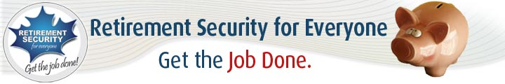 Retirement Security for Everyone Banner