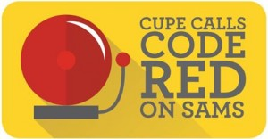CUPE Calls Code Red on SAMS code-red-300x156
