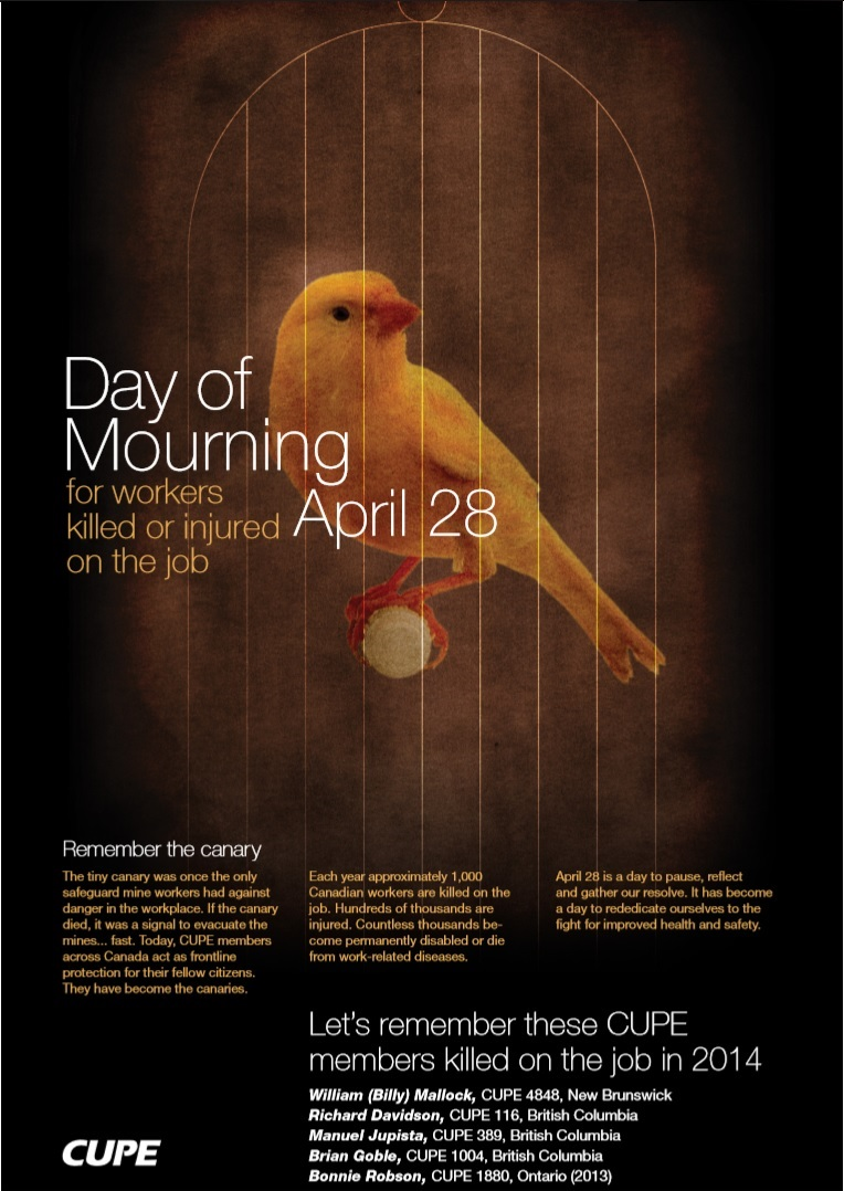 CUPE Nat Day of Mourning