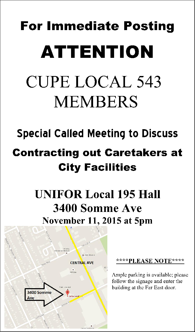 Special Meeting 11 Nov 2015 Contracting