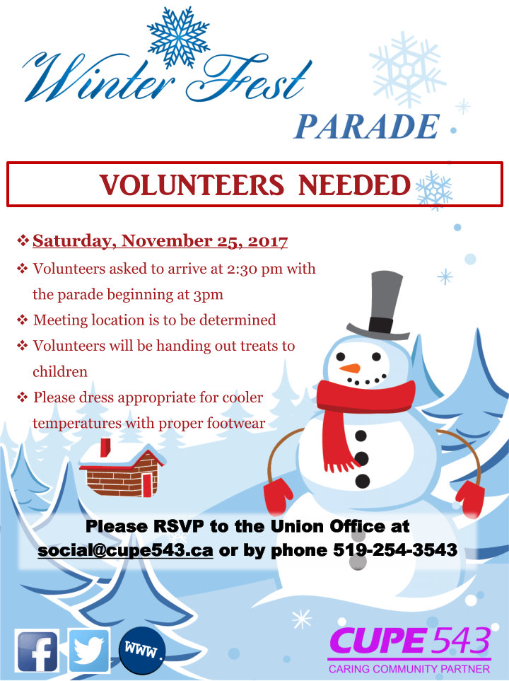 SAVE THE DATE: Downtown Windsor BIA Santa Claus Parade @ Ouellette Ave