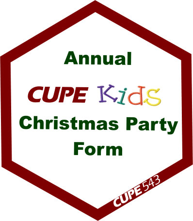 5th Annual CUPE Kids Christmas Party - Registration Deadline 04 OCT 2019 @ Ciociaro Club | Tecumseh | Ontario | Canada
